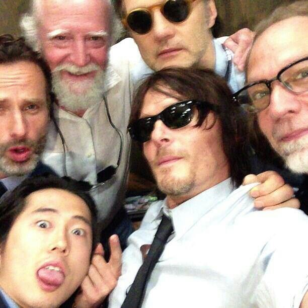 Steven We Love You But The Tongue Thing Well Is Not Your Thing The Walking Dead Walking Dead Cast Walking Dead Fan