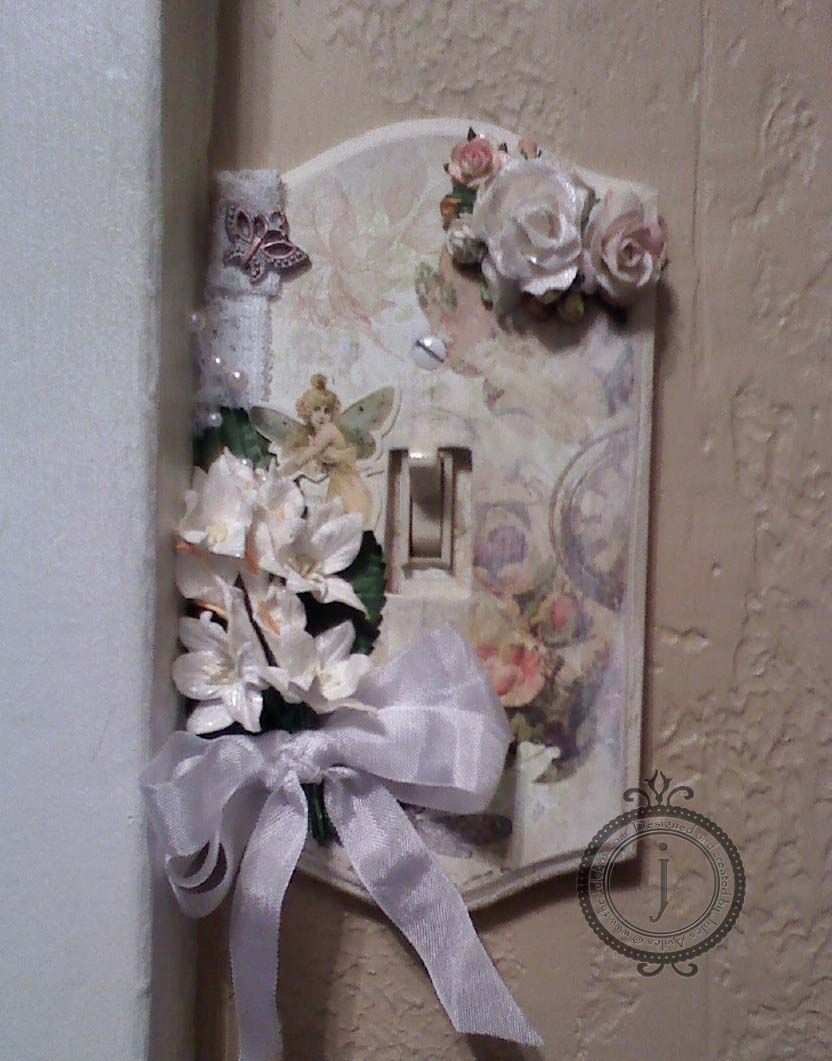 Shabby Chic Switchplate