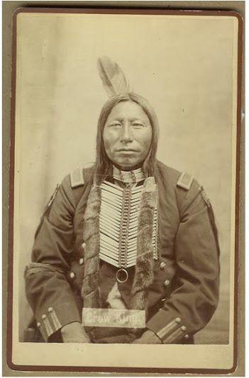 Crow King - Hunkpapa/Sihasapa - circa 1880