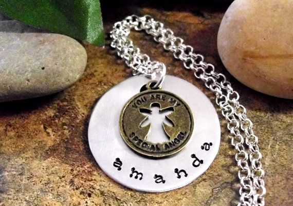You are my special Angel Necklace Angel Jewelry Angel Pendant Angel Charm