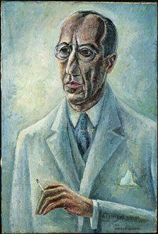Adriaan Lubbers, portret van Piet Mondriaan, 1931. Pieter Cornelis Mondriaan NL 1873 - 1944, was een Nederlandse kunstschilder en kunsttheoreticus, die op latere leeftijd in het buitenland woonde en werkte. Mondriaan wordt algemeen gezien als een pionier van de abstracte en non-figuratieve kunst.