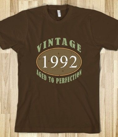 Best 1992 Vintage Birthday Love Shirt Vintage Fashion Shirts 400 x 300