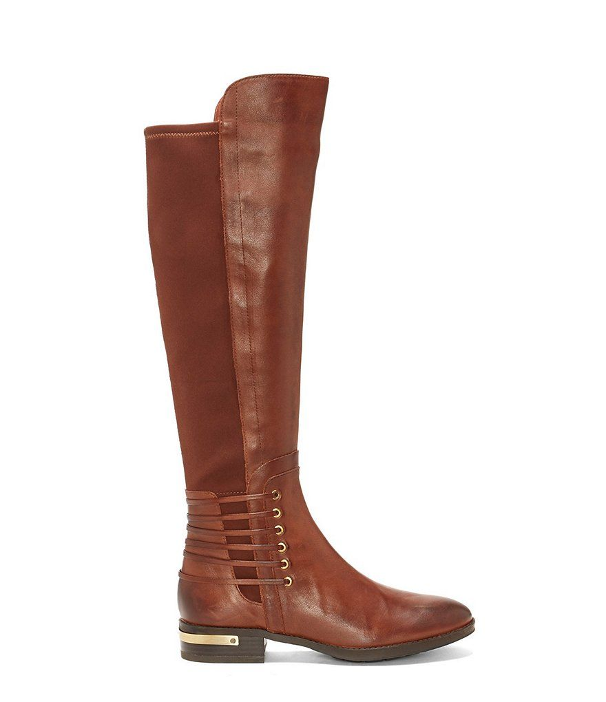 0ecf0392527 Vince Camuto Payge Leather Over The Knee Riding Boots