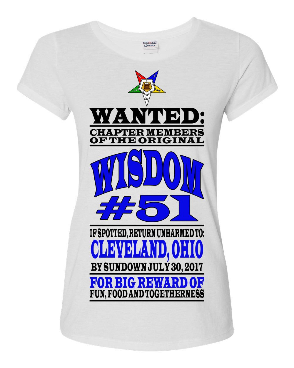 827c33b1 OES CustomT-Shirt / Chapter Gathering / Wanted Poster / Order of the Eastern  Star T-shirt by SherryAmourBySherry on Etsy