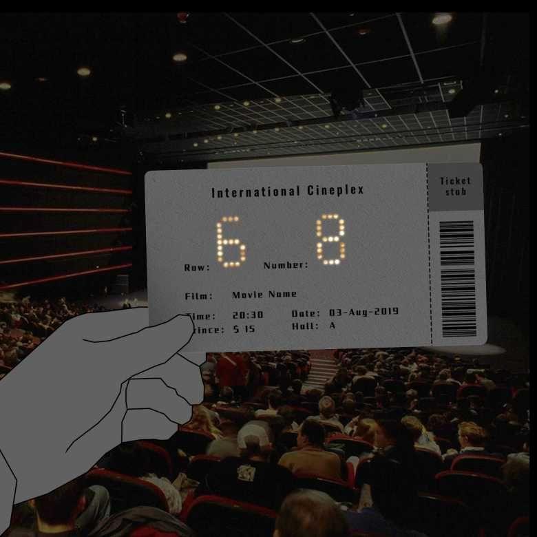 Cinema Il Invente Un Ticket Qui Vous Permet De Trouver Votre Place Dans Le Noir Complet En 2020 Cinema Salle De Cinema Musee Ghibli