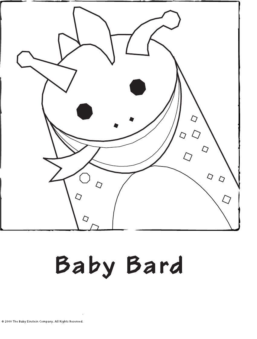 Baby Einstein Coloring Book All 20 Pages | Baby Einstein 1st ...