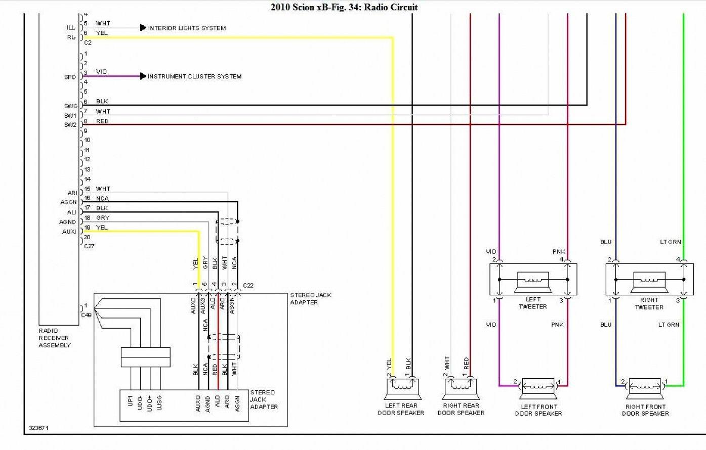 Wiring for Scion Xb Taillights Unique in 2020 | Scion tc ...