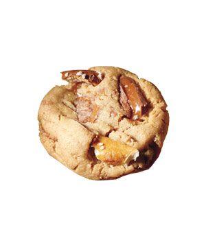 Toffee-Pretzel Peanut Butter Cookies.