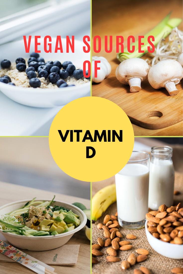Vegan Vitamin D Supplements And Foods Tasteeco Vegan Vitamins Vegan Vitamin D Vegan Vitamins Sources