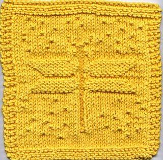 Free Dishcloth Pattern #knitting