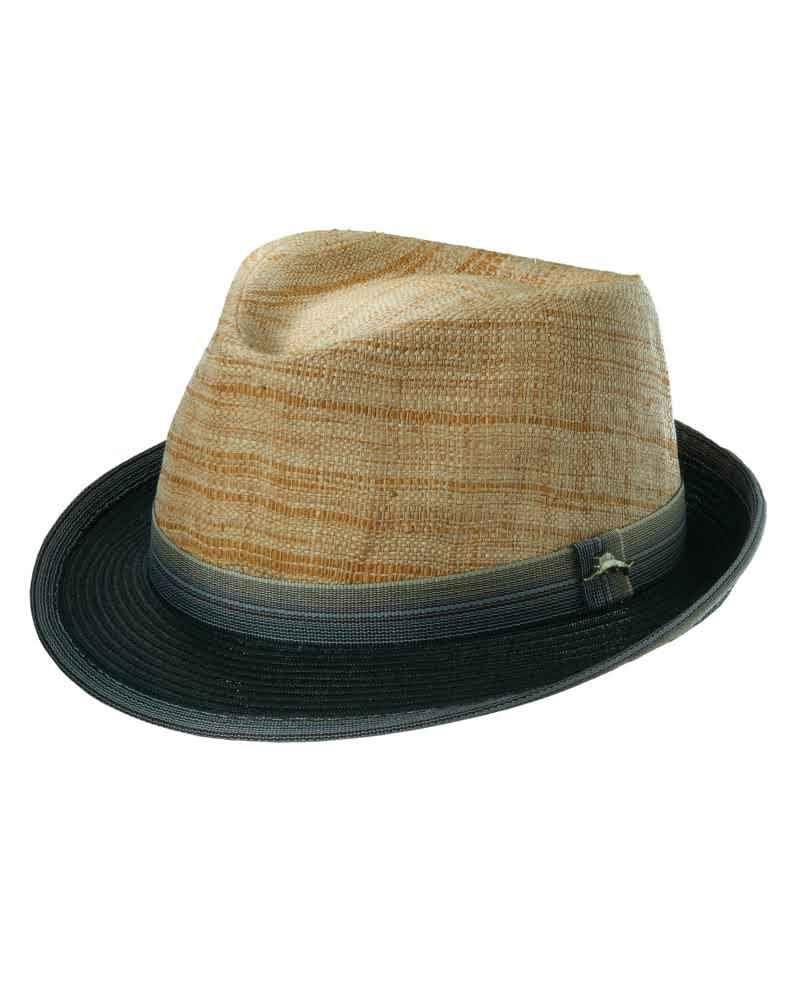 bb624adee21 Tommy Bahama two tone raffia hat