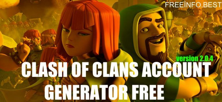 Free Clash Of Clans Accounts Generator 2020 Clash Of Clans Clash Of Clans Account Clash Of Clans Free