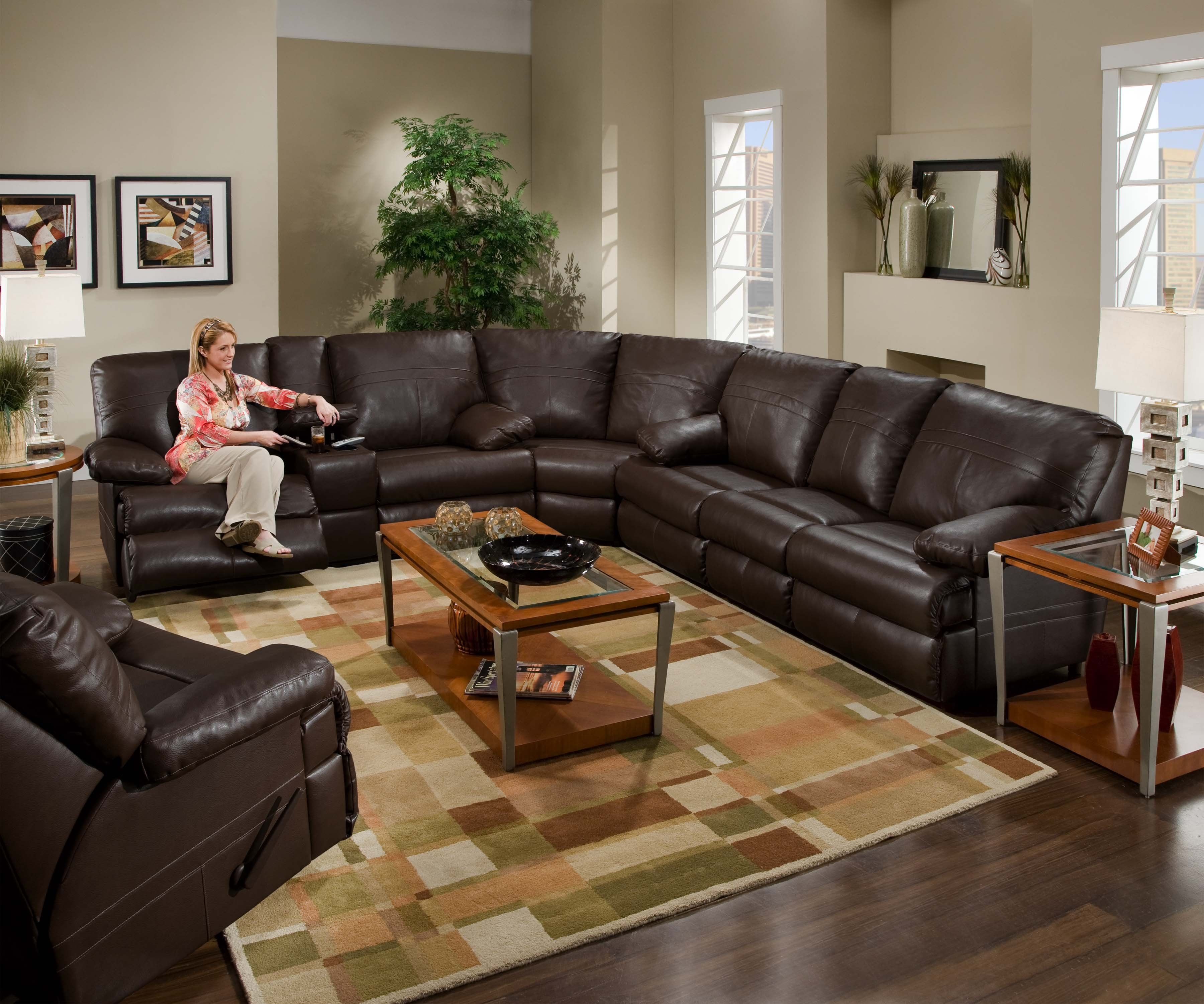 Surprising Sectional Leather Couch With Recliners We Have Very Similar Pdpeps Interior Chair Design Pdpepsorg