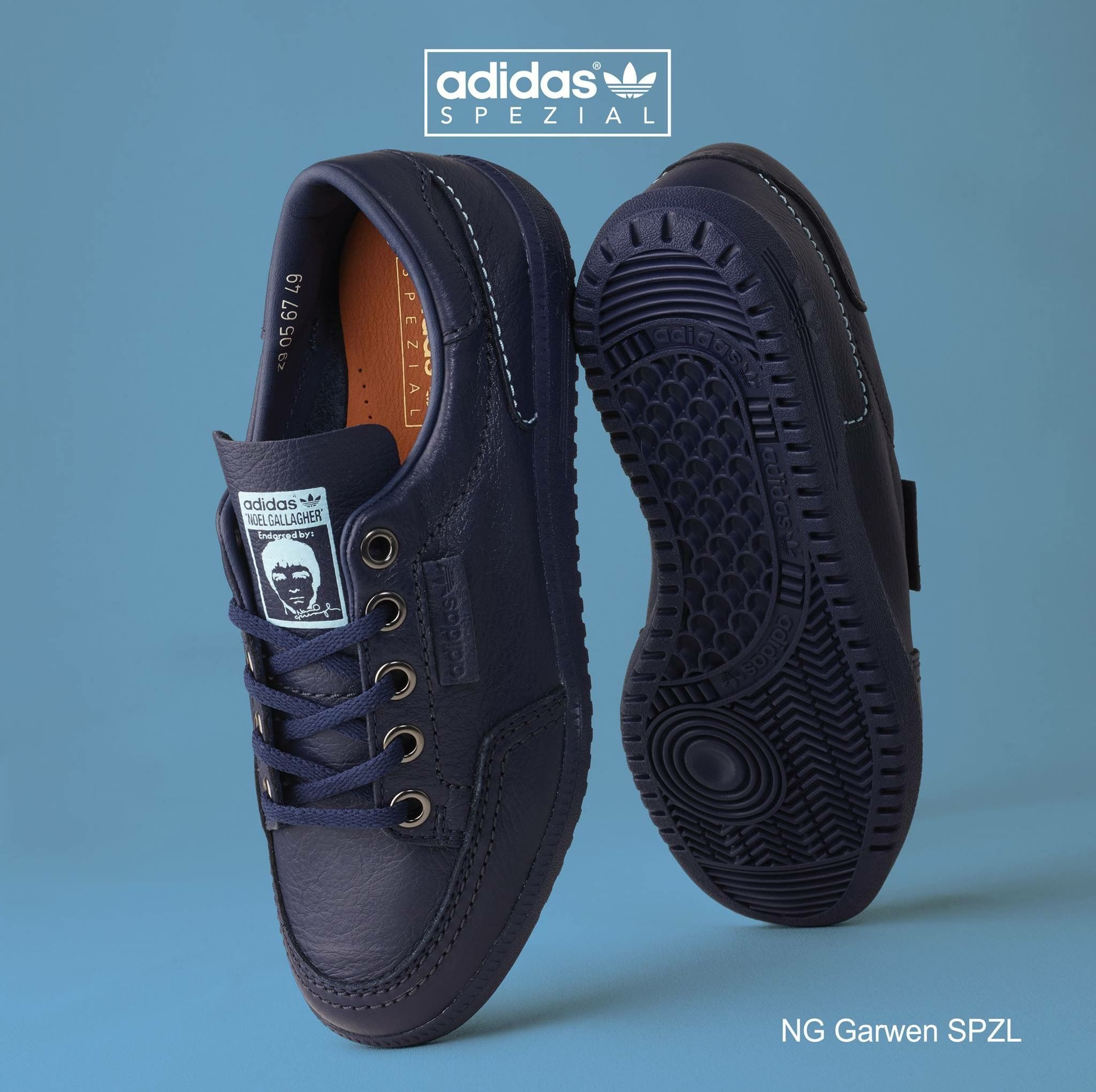 premium selection 595ea 9be91 Noel Gallagher x adidas Originals Garwen SPZL