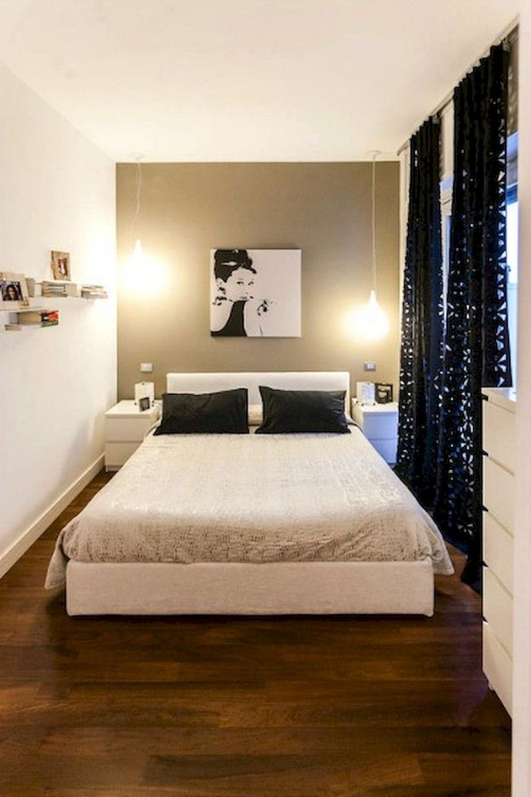 58+ Comfy Minimalist Bedroom Decor Ideas Small Rooms