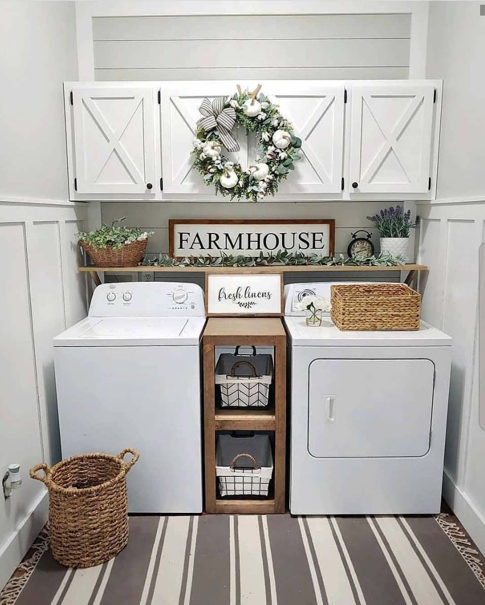 Photo of 33 Fantastic Ideas To Cozy Your Home With Farmhouse Fall Decor,  #Cozy #Decor #dreamhousedeco…