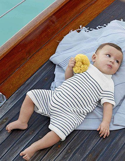 41ef8512c Baby romper suit knitting patternFREE PATTERN