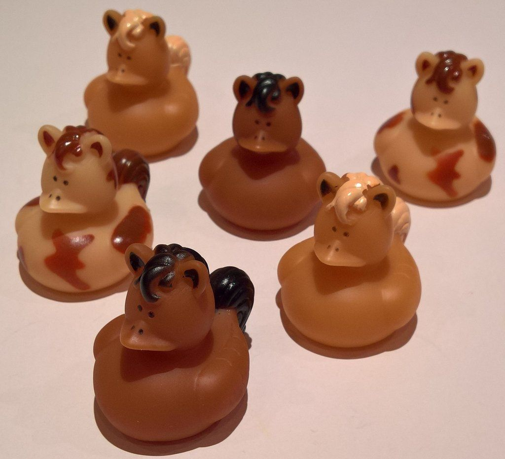 Horse Rubber Duckies - Pack of 12 Ducks