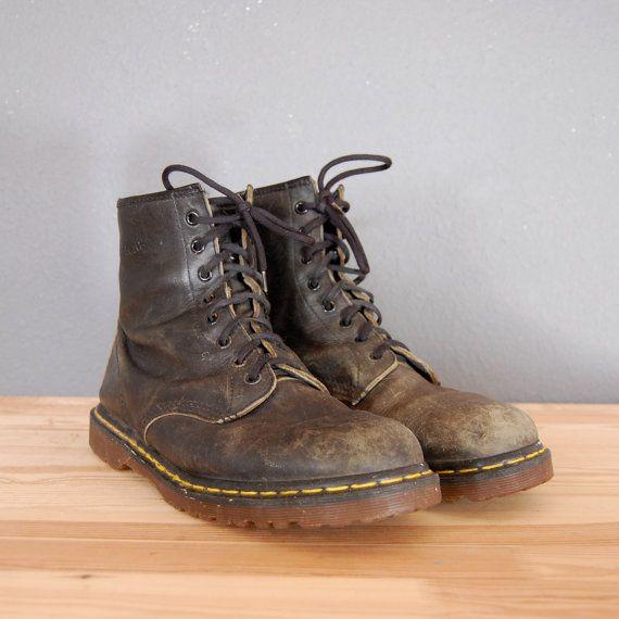 Vintage Doc Marten Boots / Black Boots / by naturalstatevintage, $67.00