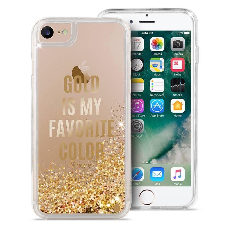 2e7fe098162 Puro Aqua Cover - Etui iPhone 7 / iPhone 6s / iPhone 6 (Gold is my  favourite colour) - Pracownia Pięknych Pomysłów