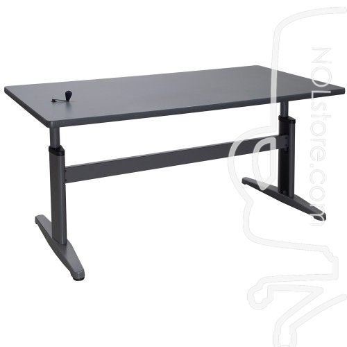 InAdjustable Height Training TableGray Pou Pinterest Grey - Training table dimensions