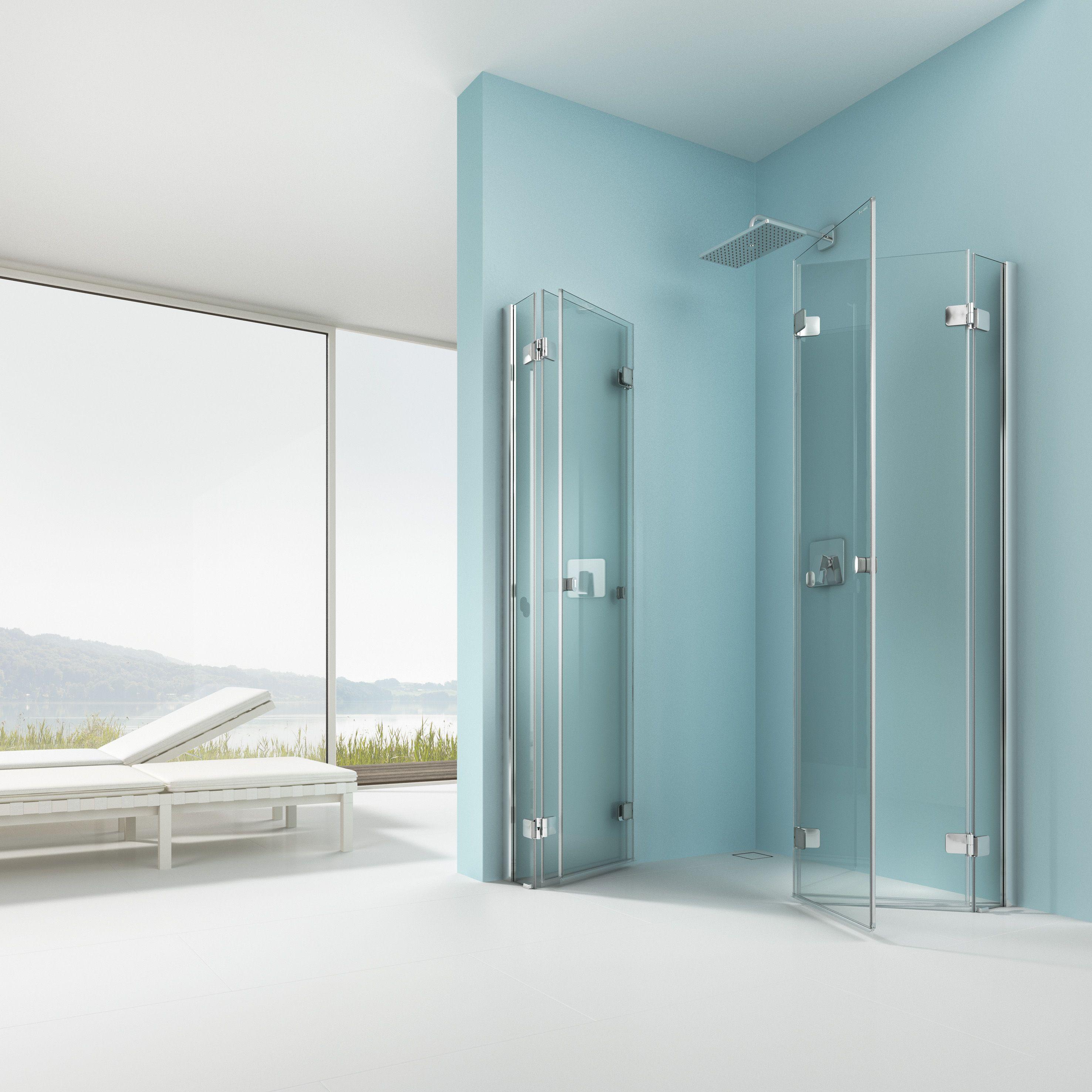 Wonderful Jedes Einzelne Glasteil Lässt Sich 180 Grad Nach Innen Und Nach Außen  Klappen. Damit Wird Der Duschraum Zum Erweiterten Badezimmer.