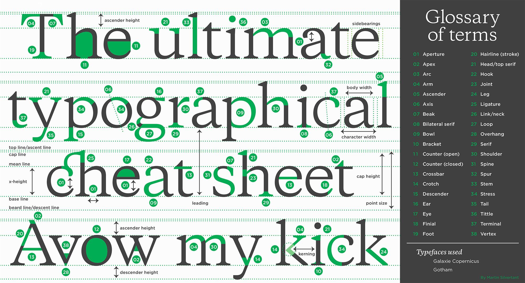 5 The Anatomy Of Typefaces The Anatomy Of Type Adoring Type Quora Type Anatomy Anatomy Of Typography Typeface