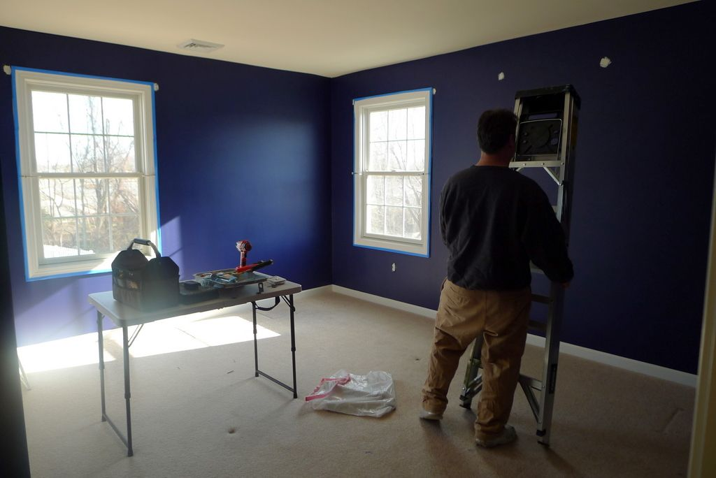 benjamin moore midnight navy - Google Search