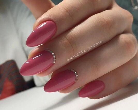 Pin by Tamara on Paznokcie | Pretty nails, Pink nails ...