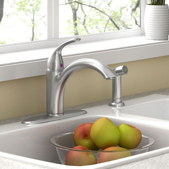 American Standard Quince Single Control Kitchen Faucet Kitchen
