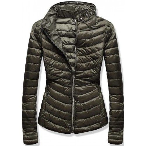 cc508df72 Dámská jarní/podzimní bunda Zeria hnědá – hnědá – skvělá prošívaná bunda  vhodná do přechodného