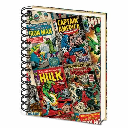 301384-Marvel-Comic-Covers-A5-Notebook-Marvel-Comic-Covers-A5-Notebook