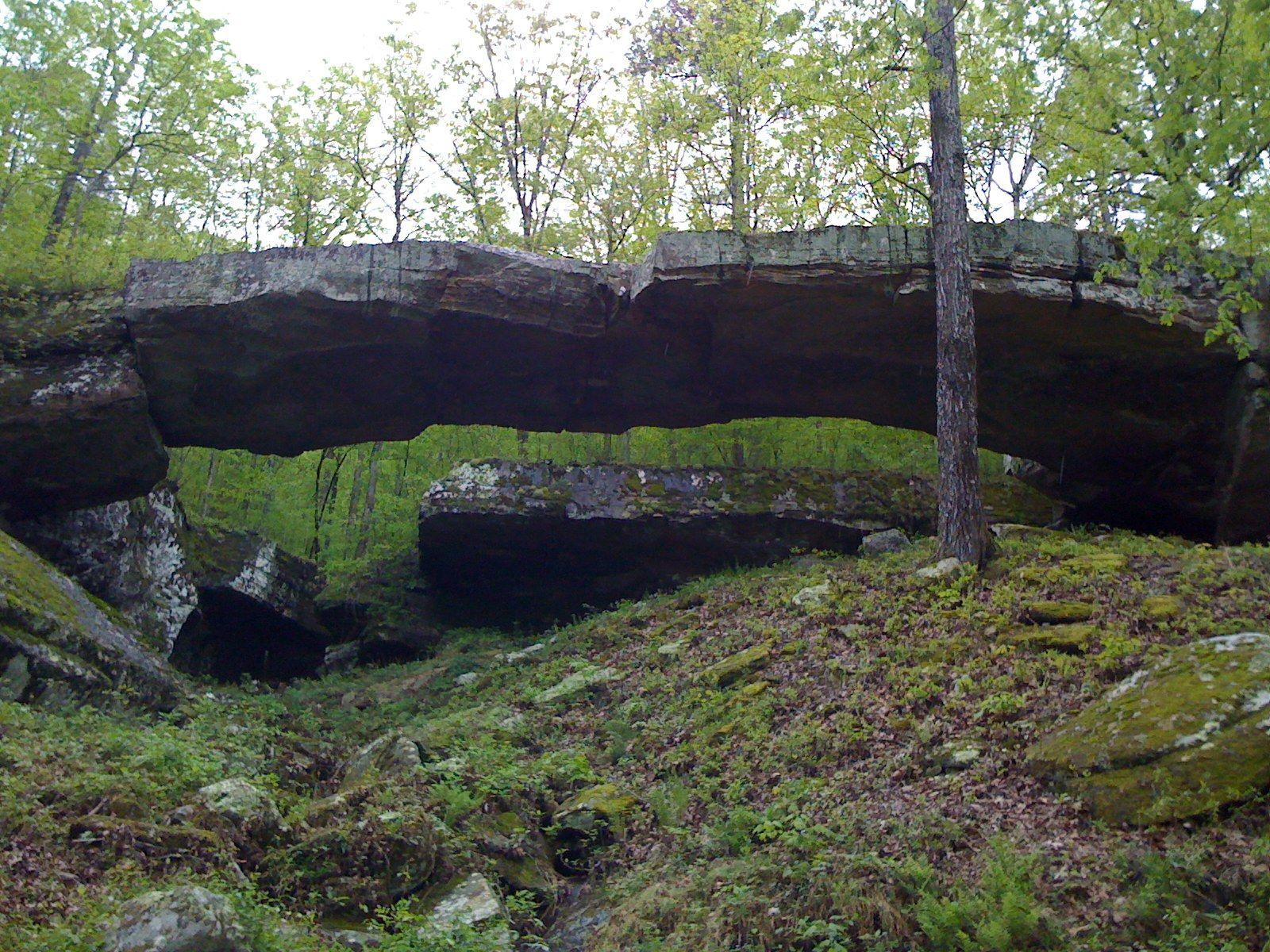 Natural Bridge Arkansas Natural Bridge Old Buildings Nature