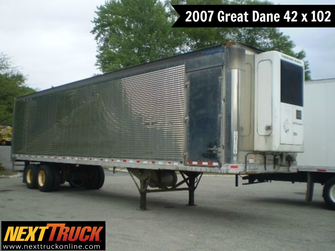 Our Featured Trailer Is A 2007 Great Dane 42 X 102 Refrigerated
