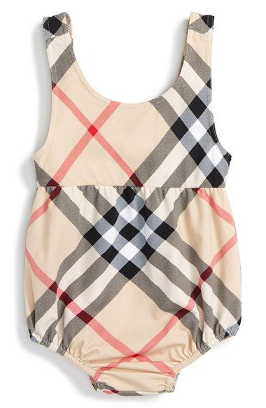 Burberry Baby Girl Swimsuit