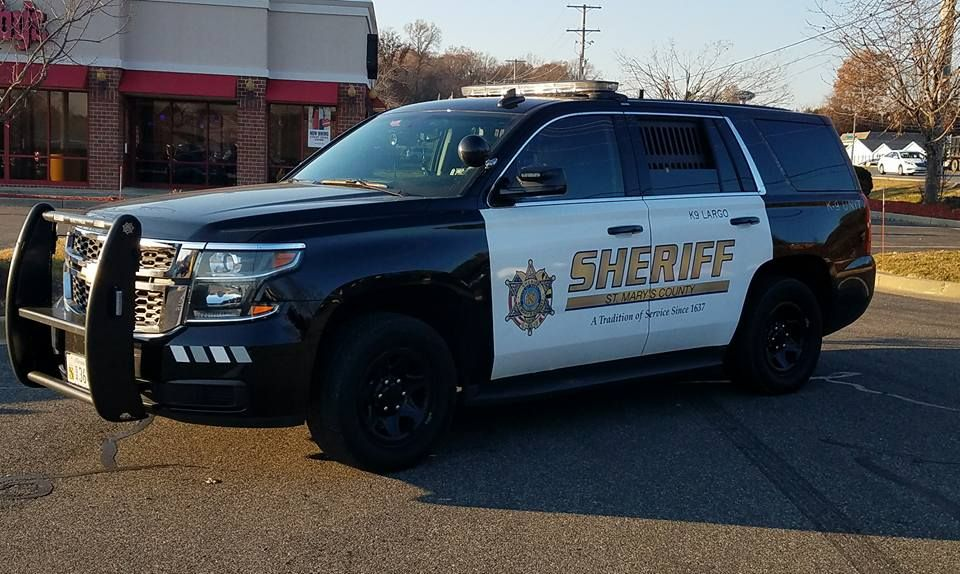 St Mary S County Maryland Sheriff Department Chevy Tahoe Vehicle