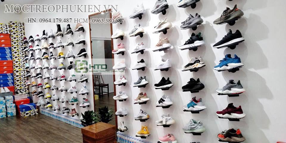 Giá kệ trưng bày giày dép cho shop thời trang năm 2019 - 8