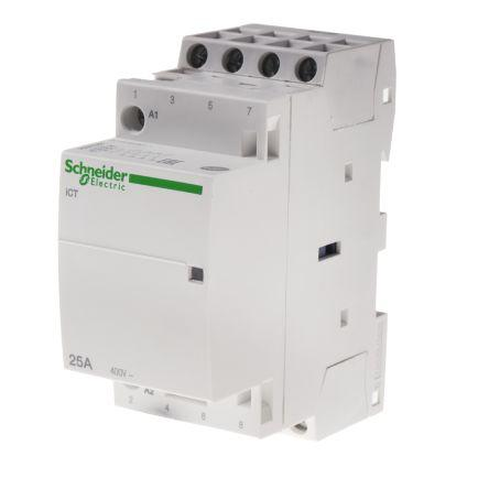 A9c24834 Schneider Electric Acti 9 Ict 4 Pole Contacto
