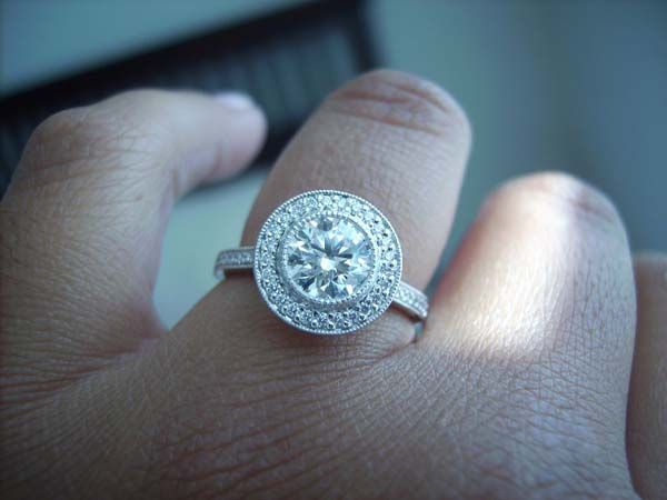 Asscher Cut Engagement Rings With Halo Setting 36