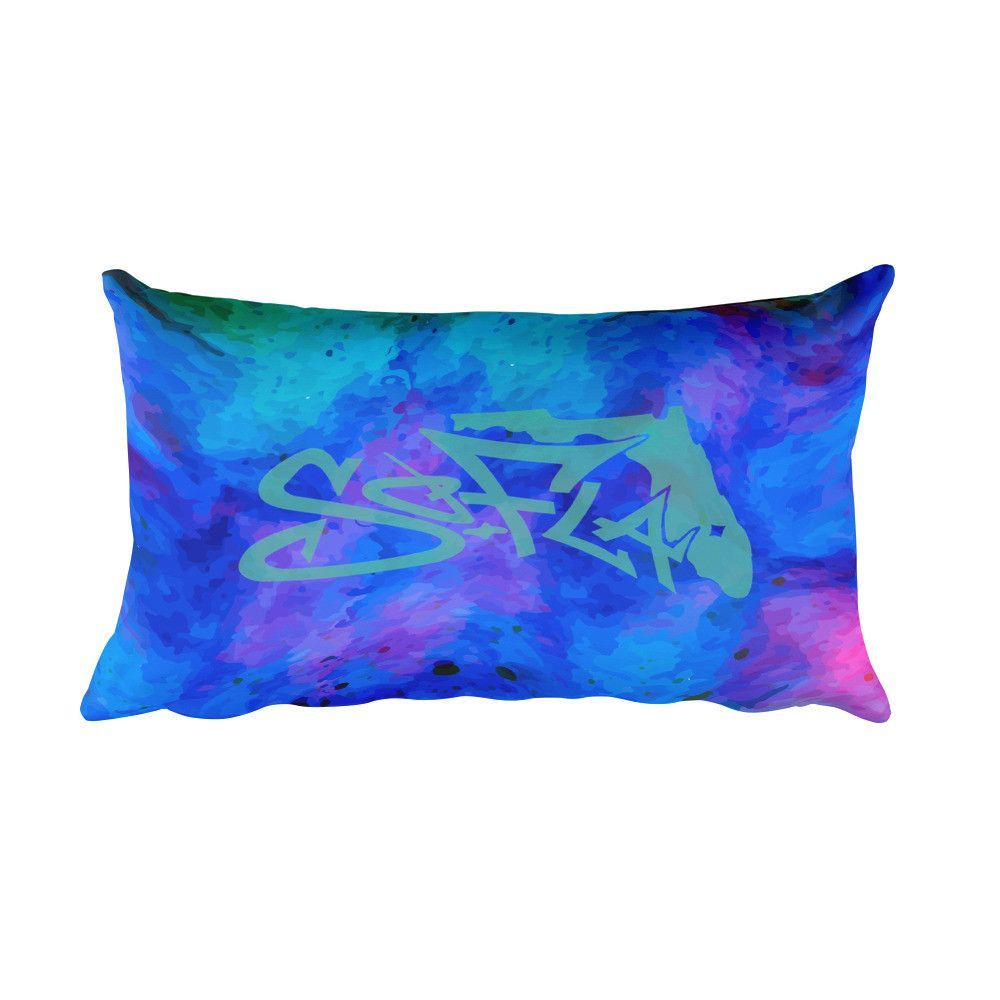 Cosmic Journey Rectangular Pillow