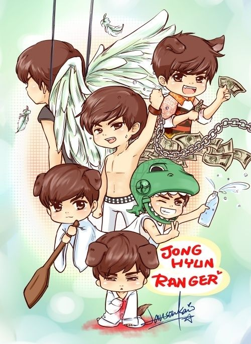 112 Best Images About: Shinee Fan Art N Chibi