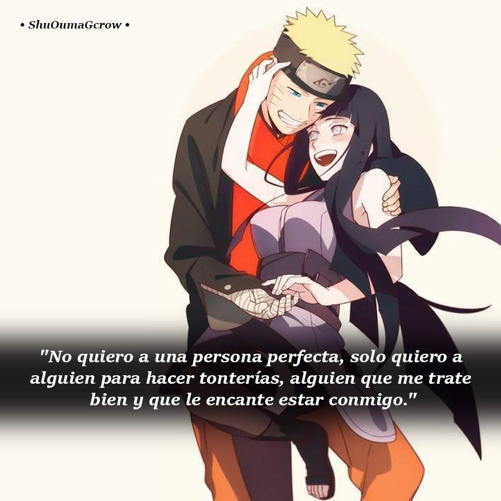 No Quiero Una Persona Perfecta Shuoumagcrow Anime Frases Anime