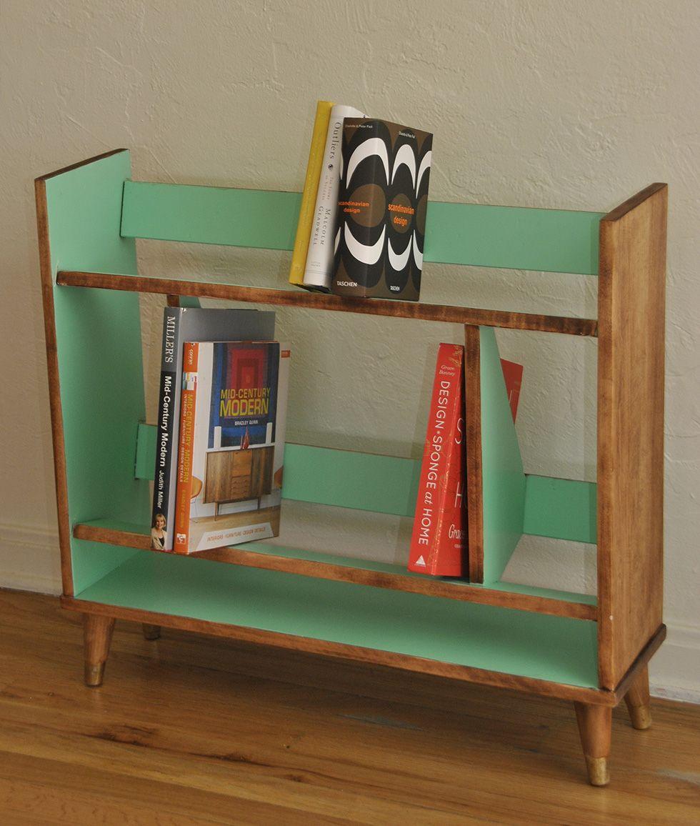 Danish Mid Century Bookcase Shelving Trevi Vintage Design