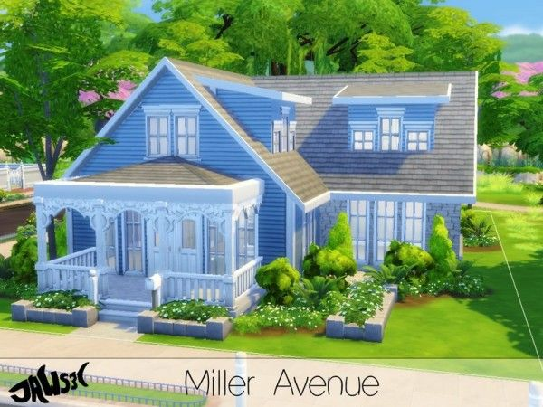The Sims Resource Miller Avenue By Jaws3 Maison Sims