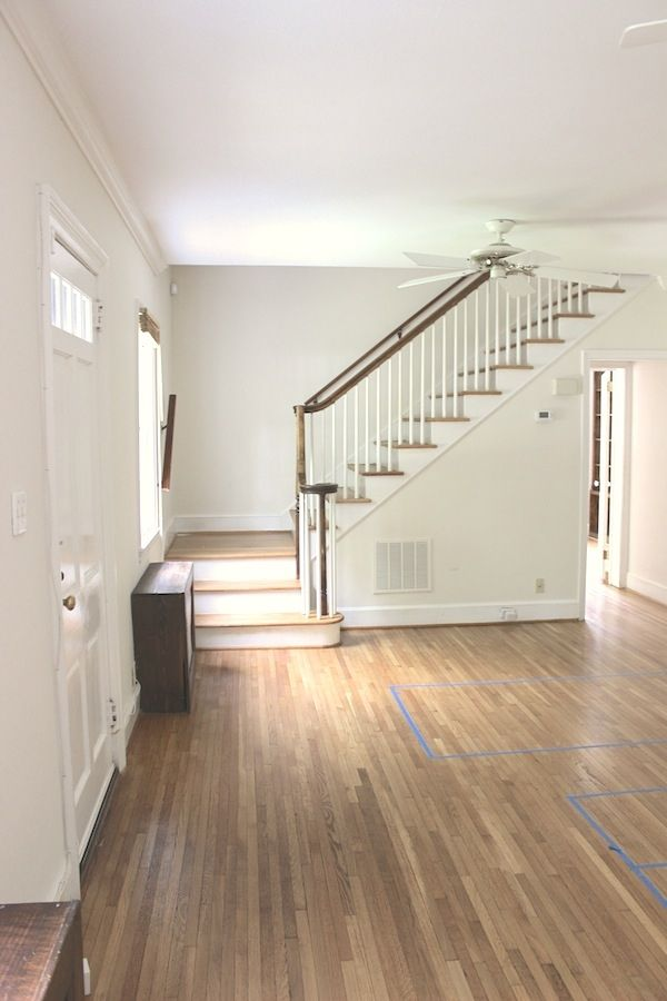 How to decorate a room for function and flow when your front door opens into it