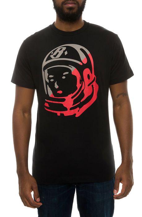 The Slash Helmet Tee in Black & Cream