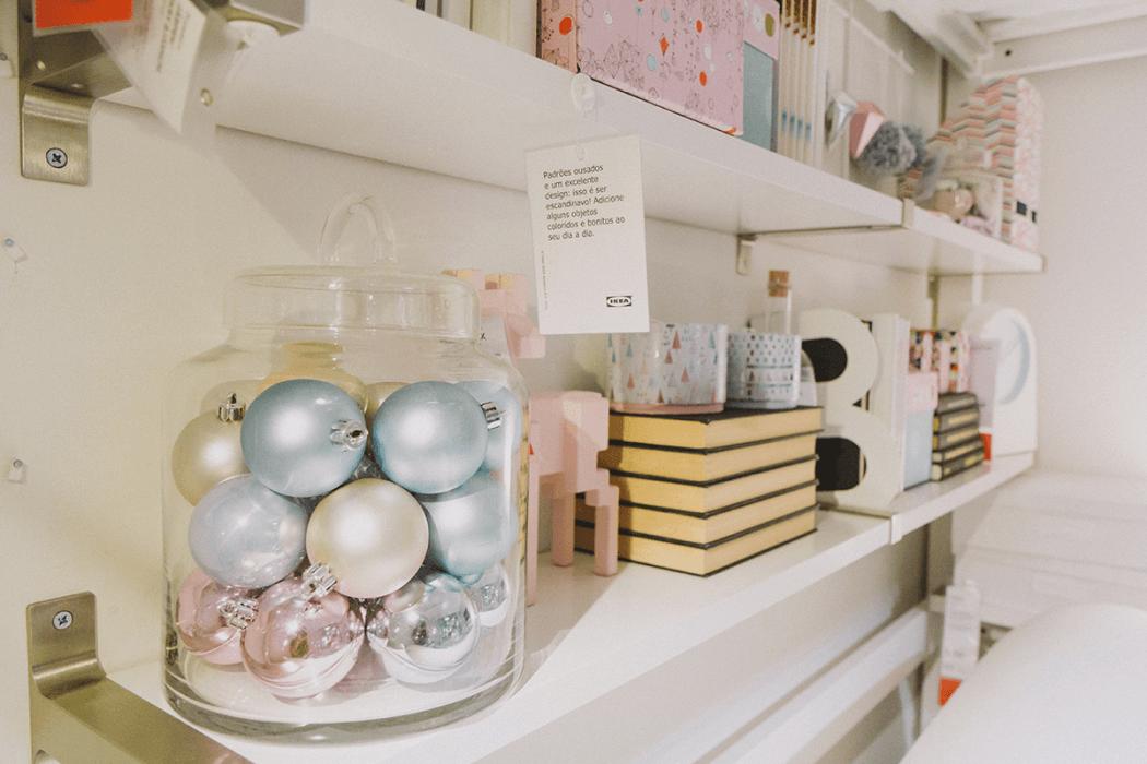 os tons pastel são os heróis desta época natalícia - por www.weareloveaddicts.com #Natal #decoração #bloggers #ikeaportugal