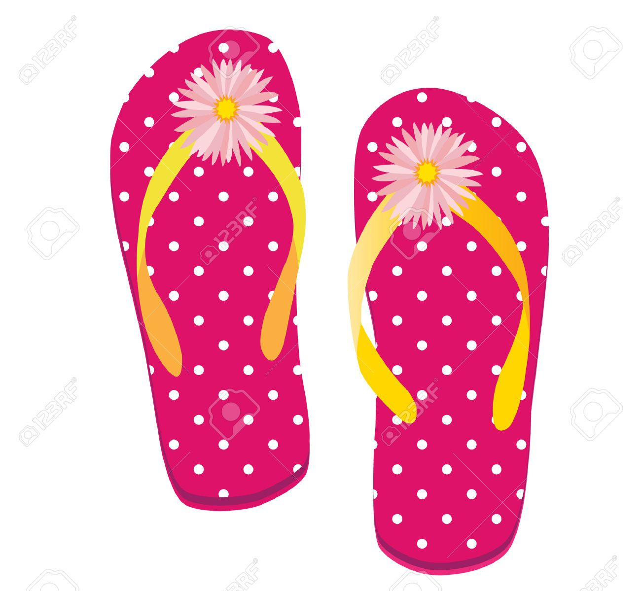 Flip Flop Stock Vector Illustration And Royalty Free Flip Flop ...