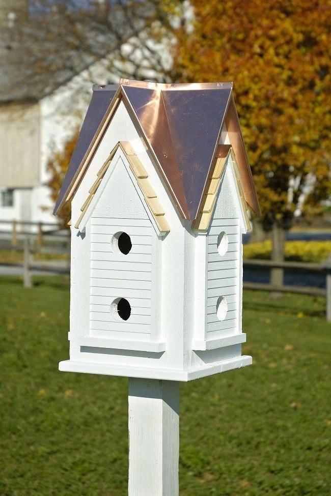 Best Heartwood Victorian Martin Mansion Bird House Plans 400 x 300