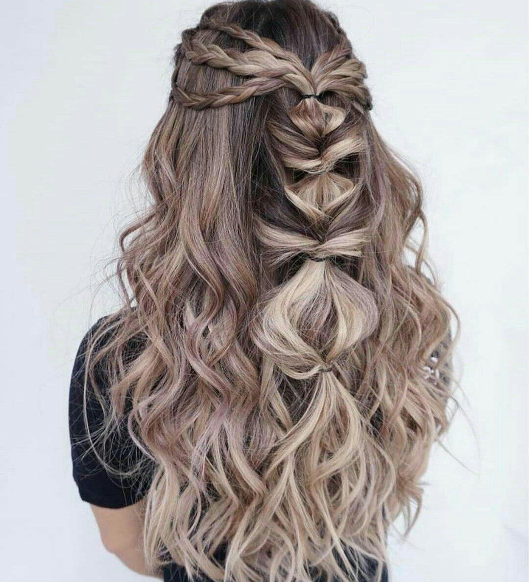 Pin by b e l l a on тαиgℓє pinterest hair hair styles